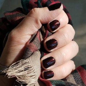 2/$20 color street nails made in milan mahogany